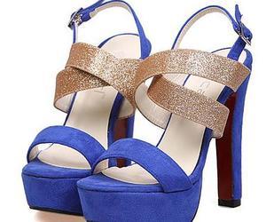 heels, high heels, and coarse fish sandal image
