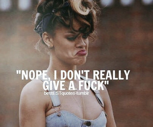 cool, nope, and rihanna image