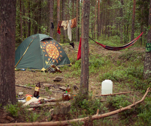 nature and tent image