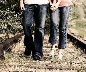 couple, together, and love image