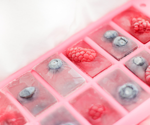 food, berries, and ice image