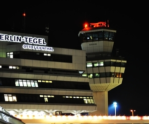 airport, berlin, and germany image