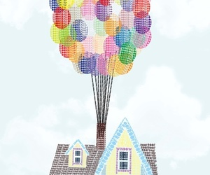 up, house, and art image