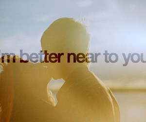 better and love image
