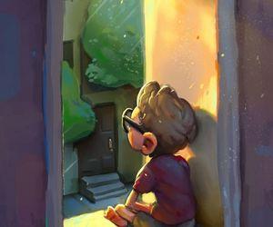 art, boy, and cute image