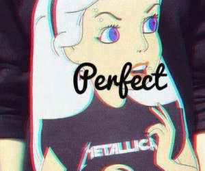 perfect, metallica, and alice image