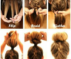 braids, buns, and diy image