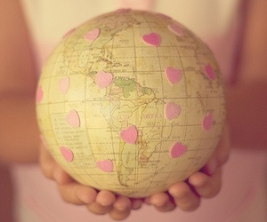 hearts, hipster, and pink image