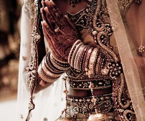 india, henna, and indian image