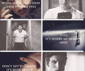 teen wolf, isaac lahey, and demons image