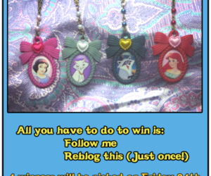 ariel, bow, and mermaid image