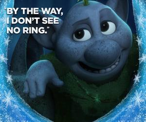 frozen, disney, and troll image