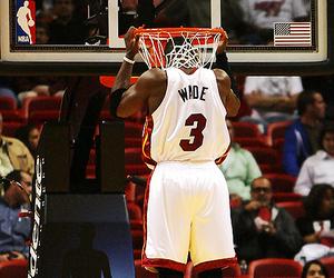 NBA, miami heat, and dwyane wade image