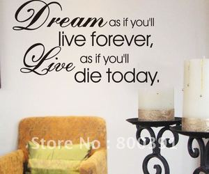 live, quotes, and Dream image