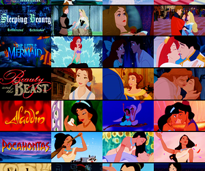 aladdin, beauty and the beast, and disney image