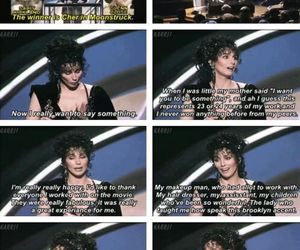 1987, Academy Awards, and cher image