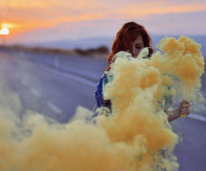 colors, steam, and yellow image