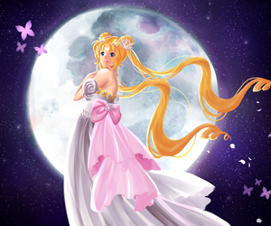 sailor moon, senshi, and usagi tsukino image
