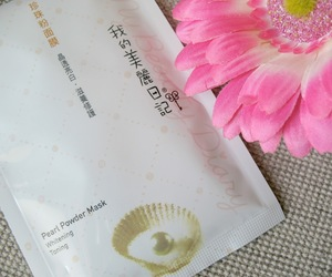 beauty, review, and sheet mask image