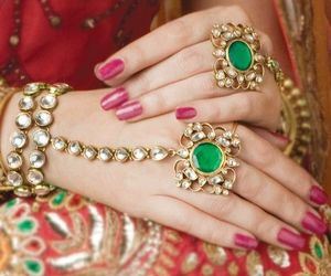 indian and nails image