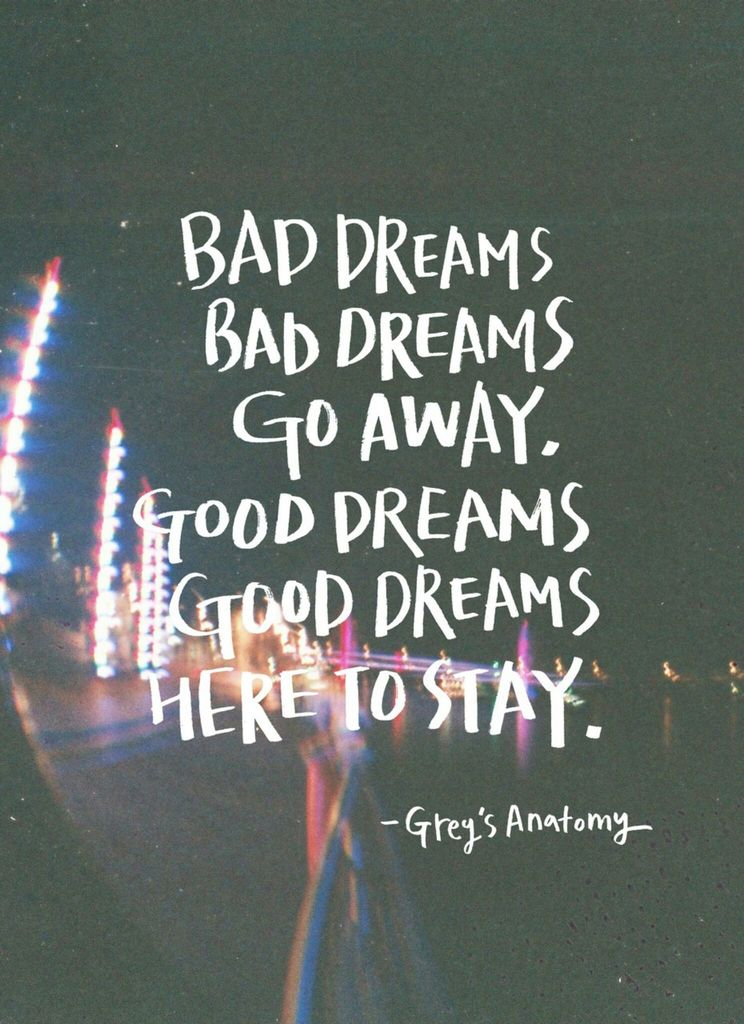 Bad Dreams Away