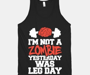 fitness, zombie, and gym image