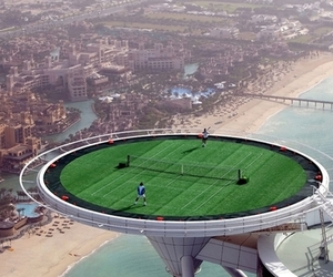 tennis, Dubai, and city image