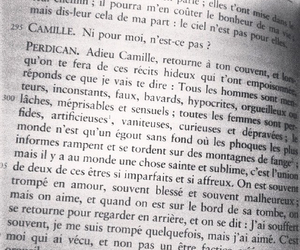 amour, book, and french image