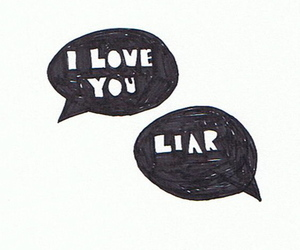 love, Liars, and quote image