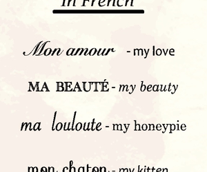couple, french, and sweet image
