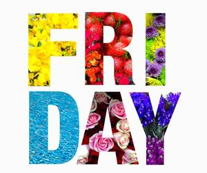 friday and flowers image