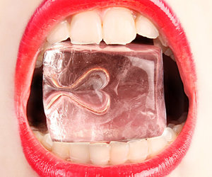heart and lips image