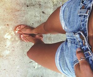 summer, shorts, and beach image