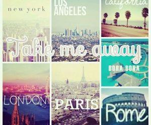 london, paris, and rome image