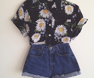 blouse, summer, and clothes image