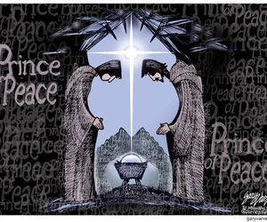 cool jesus perspective image