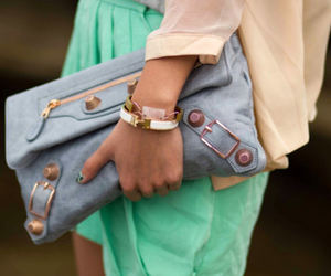 fashion, clutch, and bag image