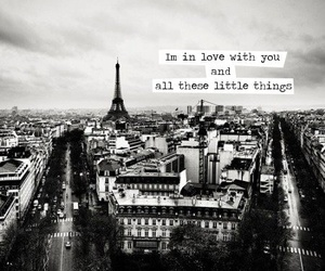 paris, little things, and love image