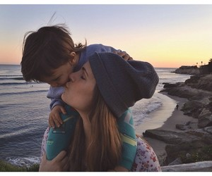 kiss, sunset, and true image