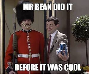 selfie, mr bean, and funny image