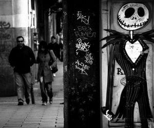 jack skellington, jack, and graffiti image