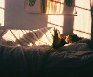 bed, sleep, and boy image