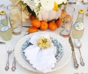 beautiful, food, and table image