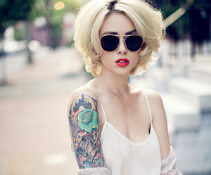 tattoo, girl, and alysha nett image