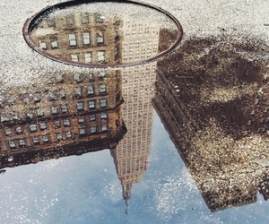 nyc, water, and building image
