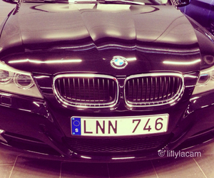 bmw, love, and car image