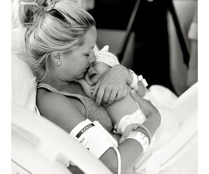 sweet, tenderness, and mommy love image