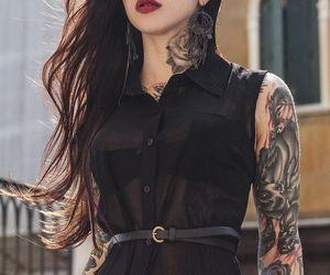 cool, Tattoos, and fashion image