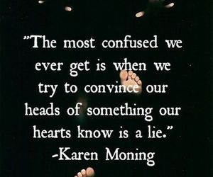 quotes, heart, and confused image