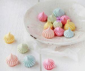 sweet, food, and meringue image